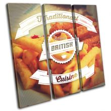 British Typography Food Kitchen - 13-6052(00B)-TR11-LO